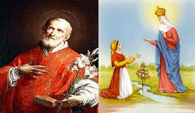São Filipe de Neri, Santa Maria de Quito e Nossa Senhora de Caravaggio