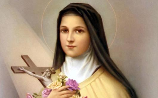 Santa Terezinha do Menino Jesus, 01 de outubro.